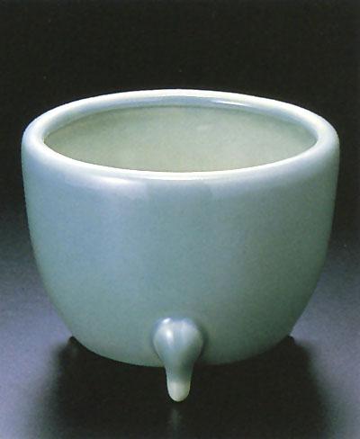 香炉 青磁玉香炉(サイズ3種類)の写真