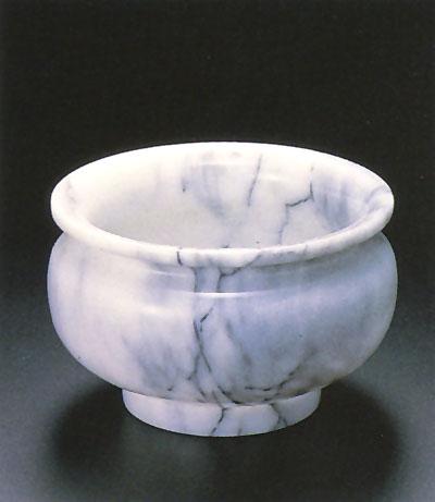 香炉 大理石(サイズ3種類)の写真