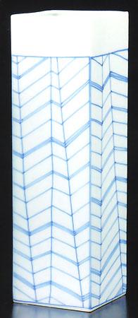 花立て 雁木紋(がんぎもん)(サイズ2種類)の写真