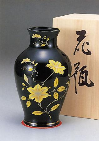 花立て 鉄仙花の写真