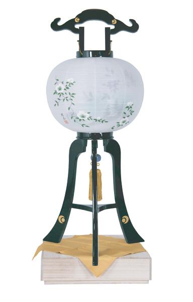 高級提灯 黒塗 金 芙蓉(1台)の写真