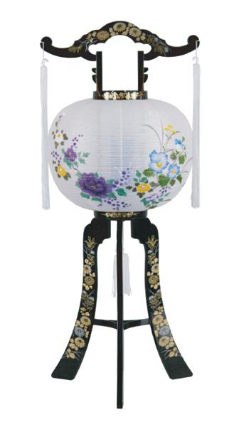 京提灯山月 2号尺二牡丹(1台)の写真