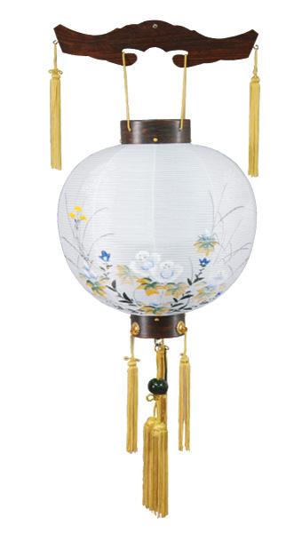 吊提灯 特三丸 ローズ ビニロン(芙蓉)(1台)の写真