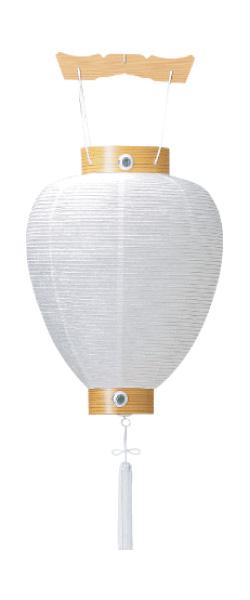 吊提灯 相極紋天 紙(1台)の写真