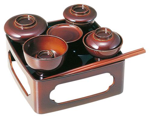仏膳[ブラウン](サイズ2種類)の写真