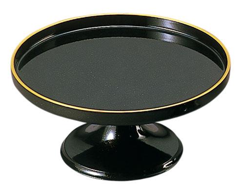 供物台[黒(フチ金)]平安型(サイズ3種類)の写真