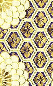 御前座布団カバー[C110紫]の写真