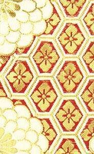 御前座布団カバー[C110赤]の写真