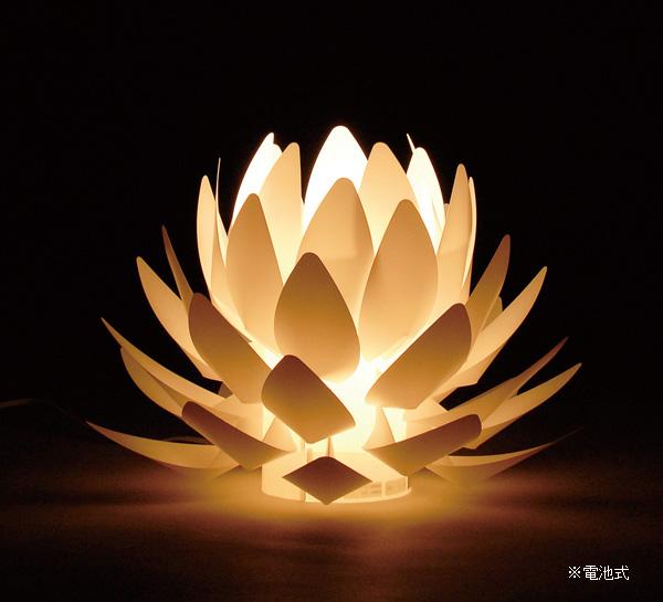 Origami-lite 蓮花 M 電池式の写真