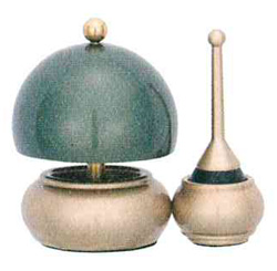 リン アルミ・ムクすずらんりんセット[緑茶]の写真