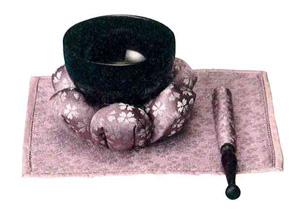 リン 日和 花フトンセット[薄紫]の写真