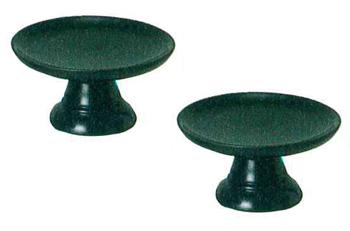 モダン供物台 木製供物台[黒檀色](サイズ3種類)1対の写真