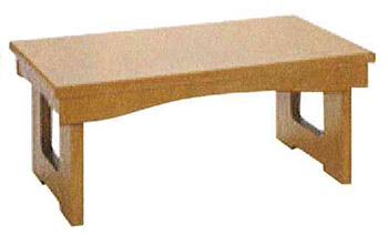 モダン経机 花台兼用折りたたみ式御供机�V[メープル調](サイズ4種類)の写真