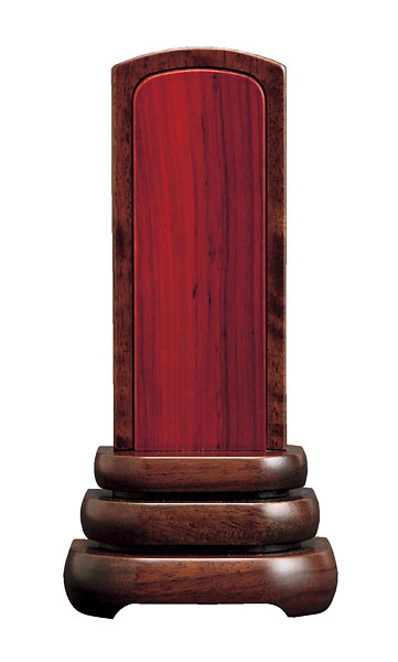 モダン位牌 涼[内紫檀](サイズ3種類)の写真