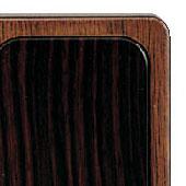 モダン位牌 常葉[ウォールナット+黒檀](サイズ4種類)の写真