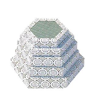 六角タタミ台[本タタミ]サイズは12種類の写真