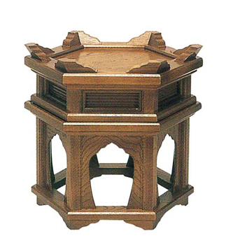二段式けいす台[栓]の写真