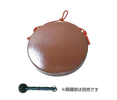 銅鑼 重目[人絹朱紐付]サイズは6種類の写真