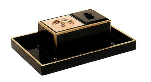 ルーツ型廻し香炉セット 【渕金タイプ】(オトシ蓋付)の写真