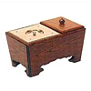 角香炉[欅](オトシ蓋付)サイズは6種類の写真