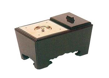 角香炉[紫檀](オトシ蓋付)サイズは3種類の写真