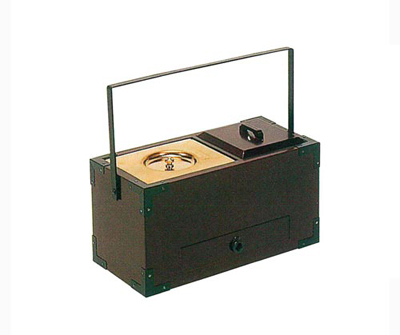 手提香炉[桜](オトシ蓋付)サイズは2種類の写真