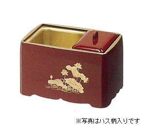 角割香炉【木質】朱塗天金[5寸]の写真