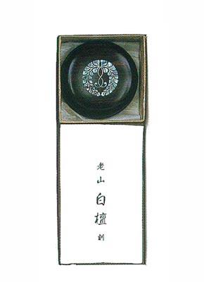 螺鈿紋入り香合セット[2.5寸]の写真