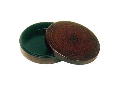 漆好塗香合(年輪)[ネジナシ]サイズは11種類の写真