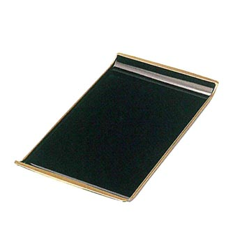 香炉盆【黒塗天金】[木質]1尺1寸の写真