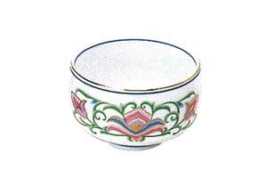 茶碗上紋輪[宝相華2.8寸]の写真