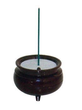 安心のお線香(中)一本立[予備電池2個付]の写真