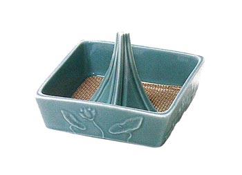 華香炉[陶器・青磁仕上]の写真