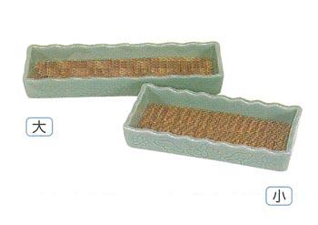線香ネカセ台[陶器]サイズは2種類の写真