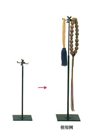 ワンタッチ式念珠掛[四ツ葉]の写真