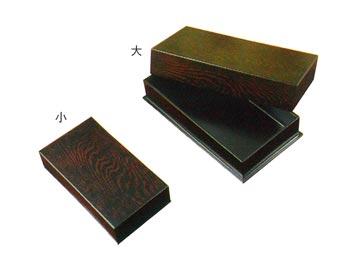 線香入れ箱【漆好塗】(サイズは2種類)の写真