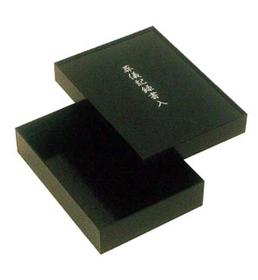 葬儀記録書入[ウッディークラフト]【黒塗】(1尺)の写真