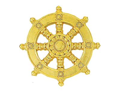 定紋 輪宝(りんぽう)[木製]サイズは4種類の写真