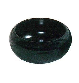 持鉢[木製漆塗・黒]5寸の写真