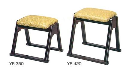 本堂用椅子(YRシリーズ)[木製]サイズは2種類の写真