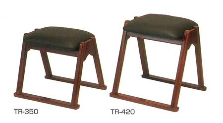 本堂用椅子(TRシリーズ)[木製]サイズは2種類の写真