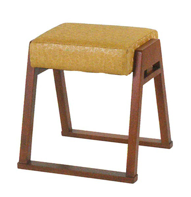 本堂用椅子[木製]の写真