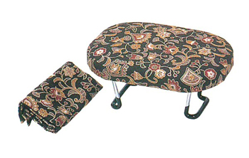 新らくらく椅子 大[専用袋付](赤・青又は茶)の写真