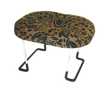 座えくぼ万能座椅子[袋なし](黒又は赤)の写真