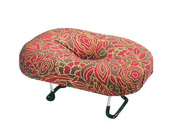 らくらく椅子 えくぼ 赤[袋なし]の写真