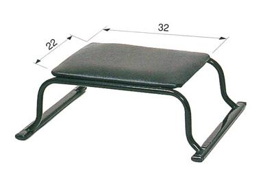 パイプ正座椅子[黒]の写真