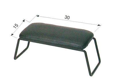 固定正座椅子[黒]の写真