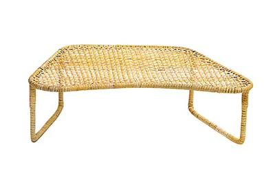 籐製座椅子[大]固定式の写真