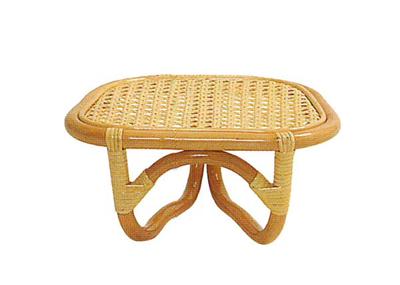 全籐製座椅子固定式の写真