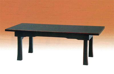 新二月堂机[黒塗面朱]板バネ式(サイズは6種類)の写真